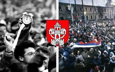 Zaujímavé výstavy, premietanie filmov či prednášky. 30. výročie nežnej revolúcie si pripomenieme aj v Seredi