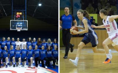 Hráčky z BK Lokomotíva Sereď a tréner Martin Bosý sa stali súčasťou slovenskej basketbalovej reprezentácie do 16 rokov