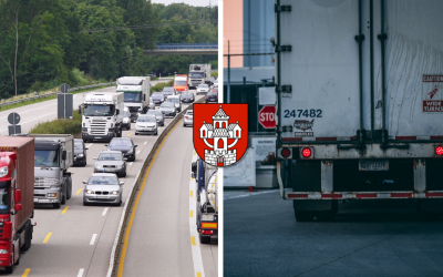 Trnavský samosprávny kraj chce rozšíriť zoznam ciest spoplatnených pre nákladné autá. Do tohto plánu by mala spadať aj Sereď