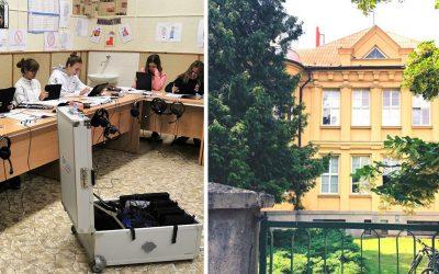 Vďaka skvelému projektu získalo Gymnázium Vojtecha Mihálika v Seredi grant vo výške 1 500 eur