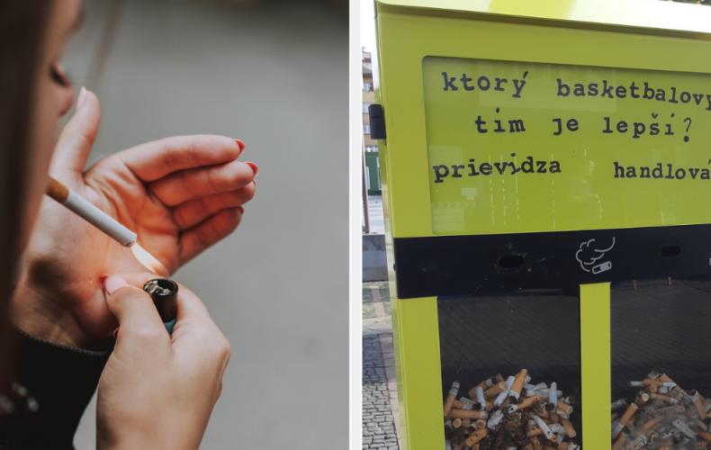 Vďaka tomuto košu už fajčiari nehádžu cigaretové ohorky na zem. Chcete ho aj v Seredi?