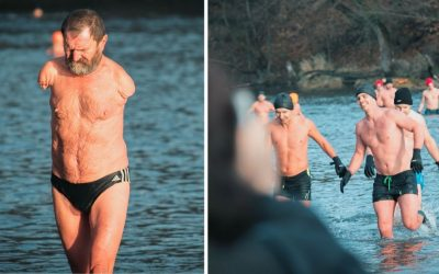 Už túto nedeľu otestujú otužilci zo Seredského spolku zimných plavcov mrazivý Váh. Okúpete sa aj vy?