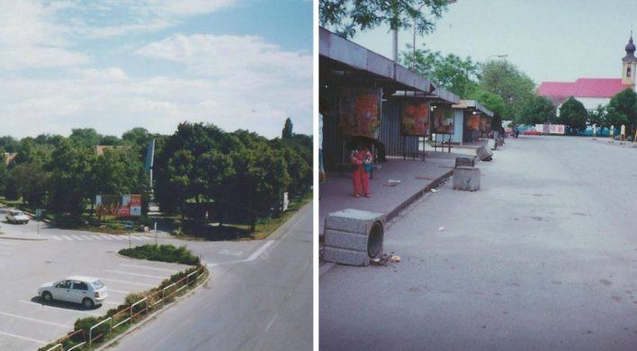 Plechová autobusová stanica či Sereď bez Perlovky. Pozrite sa na skoro 20 rokov staré fotografie nášho mesta