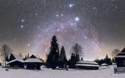 Vedeli Seredčania, že najlepší vianočný záber pochádza zo Slovenska? NASA vybrala fotku Tomáša Slovinského