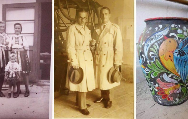 Seredčania Emanuel a Antónia Škapoví vyrábali maľovanú keramiku, ktorá obletela svet. Prinášame vám ich životný príbeh