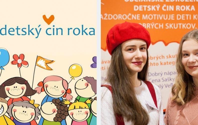 Na Slovensku sa deje veľa dobra. Každý rok nám to dokazuje Detský čin roka