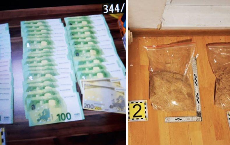 """V Seredi prebehol veľký a úspešný protidrogový zásah s názvom """"Stroj"""". NAKA zadržala niekoľko osôb a kíl drog"""