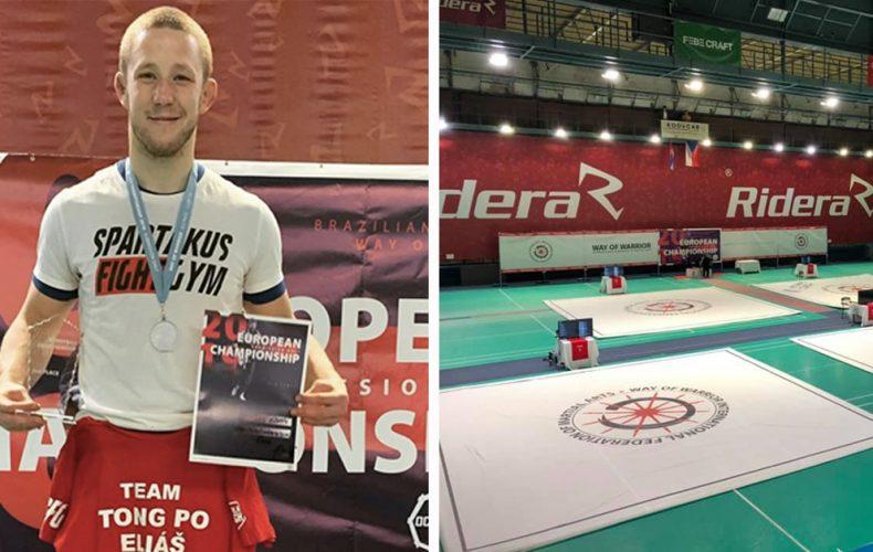 Skvelý športový úspech! Lukáš Eliáš z Dolnej Stredy získal striebro a bronz na európskom šampionáte v bojovom umení jiu-jitsu
