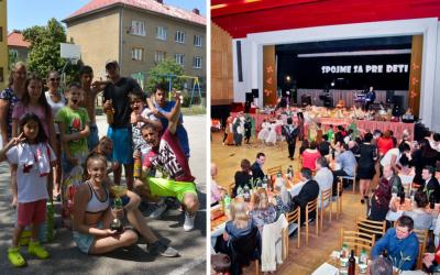 10. ročník charitatívnej akcie Spojme sa pre deti je jedinečná možnosť, ako pomôcť deťom bez domova