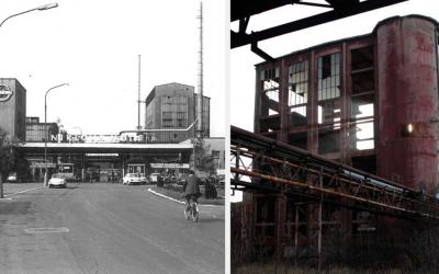 Pozrite si historické videá zachytávajúce dokončenie výstavby a začiatok výroby bývalej Niklovej huty v Seredi