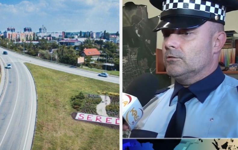 Poznáme rok opravy kritického stavu mosta. Mestskí policajti vyzbierali na železničnom moste v Seredi slušný balík peňazí