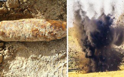 V Šúrovciach našli nebezpečnú bombu z 2. svetovej vojny. Pyrotechnici ju museli ihneď odpáliť