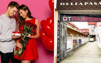 Vďaka predajni DT Parfémy v Seredi zvládnete Valentín skvelým spôsobom. V ich sortimente si vyberie niečo pekné naozaj každý