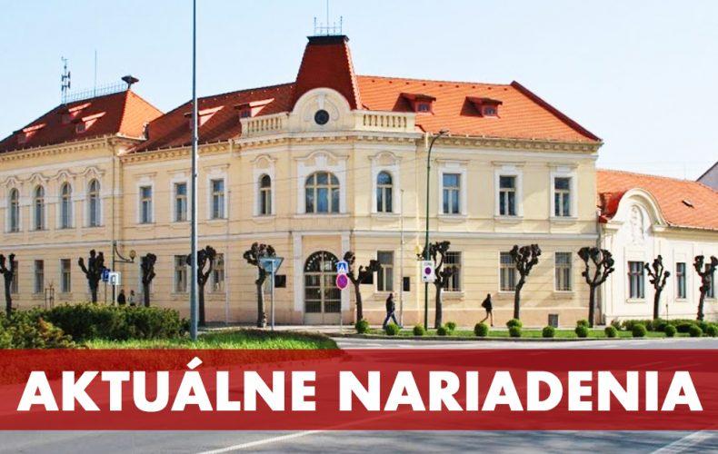 Mesto Sereď rozšírilo preventívne opatrenia proti šíreniu koronavírusu