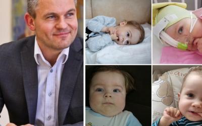 Premiér udelil výnimku na podanie lieku pre Alexeja, Alexa, Améliu a Riška