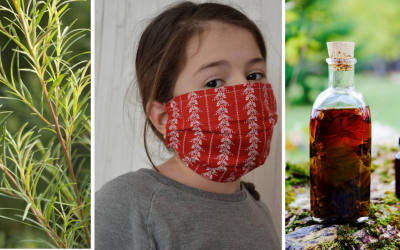 Vyrobte si doma rúška a prírodné dezinfekčné prípravky, ktoré sú v obchodoch aktuálne nedostupné