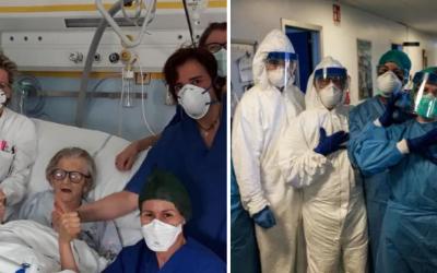 95-ročná babička z Talianska je nádejou v ťažkých časoch. Aj napriek vysokému veku porazila koronavírus