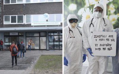 Nemocnica v Galante pristupuje k ďalším opatreniam. Uzatvára všetky vchody okrem jedného
