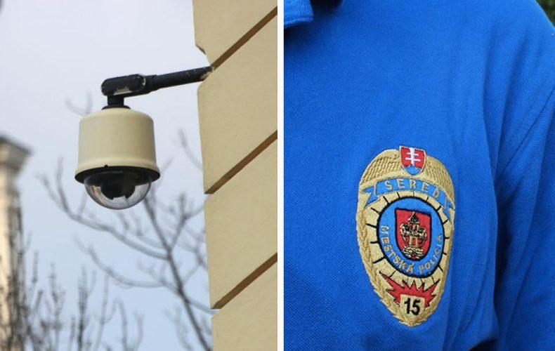 Vedeli ste, že na poriadok v Seredi dohliada okrem mestskej polície aj 90 kamier? Polícia plánuje rozšíriť svoje rady