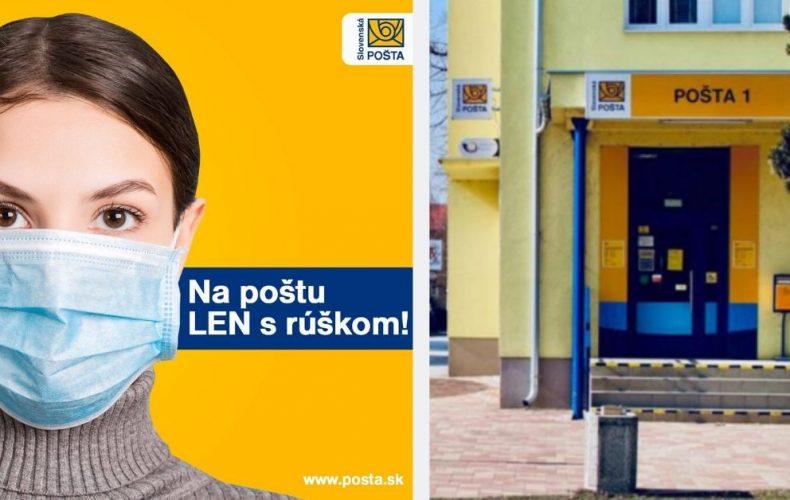 Slovenská pošta predlžuje lehotu na vyzdvihnutie zásielok a pozastavuje komerčný predaj