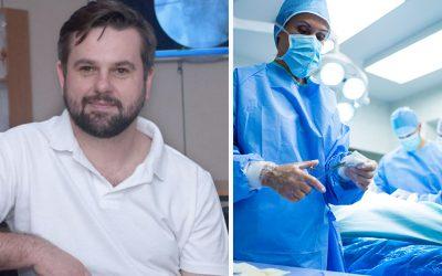Seredčan Dušan Matejička vykonal ako prvý v Česku unikátnu operáciu chrbtice