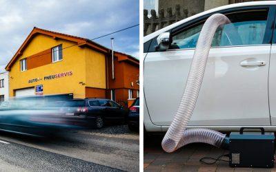 Tento autoservis zbaví vaše auto všetkých baktérií a vírusov. Využite vysokoúčinnú dezinfekciu ozónom