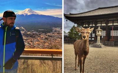Cestovateľ a bežec Matúš Šajbidor zo Šoporne vám ukáže krásy Japonska, ktoré spoznal vďaka ceste do Tokia