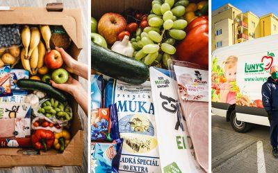 Spoločnosť Lunys doručuje už aj do Serede či Dolnej Stredy. Vyskúšali sme najrýchlejšiu donášku potravín na Slovensku