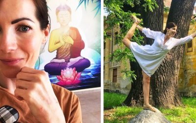 Jogínka Mária Adamčová z Paty vám vo svojich videách ukáže, ako si môžete doma zacvičiť obľúbenú jogu aj vy