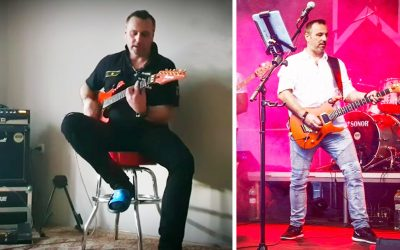 Riaditeľ policajného zboru v Šoporni Martin Holubek očaril Slovákov svojími obývačkovými koncertami s piesňami ako V dolinách či Stand by me