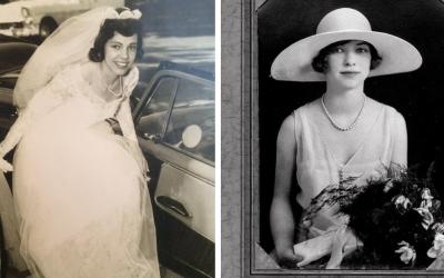 Pozrite si unikátne svadobné fotografie z minulého storočia. Ako vyzeral textilný priemysel v Seredi?
