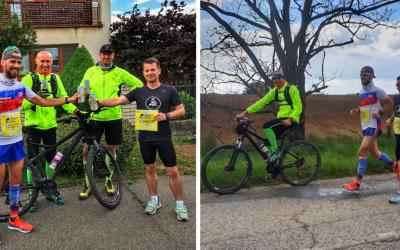 Matúš Šajbidor zo Šoporne odbehol 34 kilometrov pre ľudí, čo behať nemôžu. Výťažok ide na výskum ochorení miechy