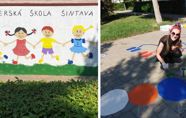 Materská škôlka pri ZŠ kráľa Svätopluka v Šintave prešla nádhernou zmenou. Deti sa môžu tešiť napríklad aj na pocitovú mapu