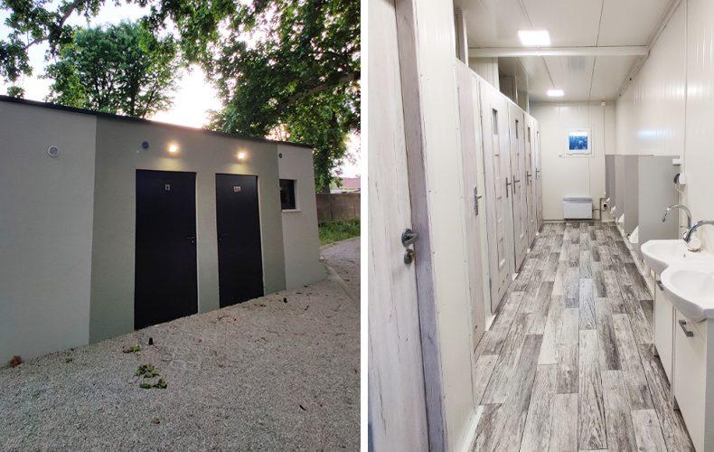 Seredskému amfiteátru už naozaj nič nechýba. Pribudli tam verejné toalety, ktoré zvýšia komfort návštevníkov