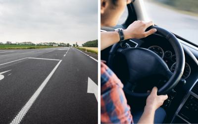 TTSK zmodernizoval cestný úsek medzi Šoporňou a Dlhou nad Váhom. Cestný úsek obsahuje moderné bezpečnostné prvky