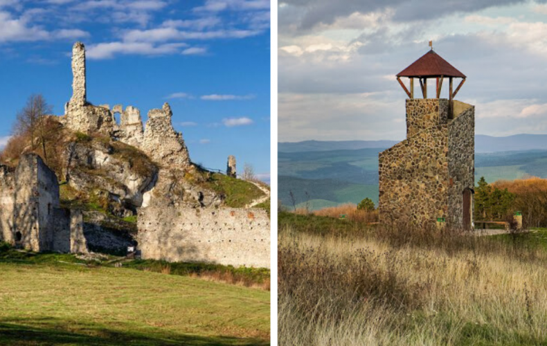 Nájdete tu zrúcaninu gotického hradu aj netradičnú rozhľadňu. Čo všetko ukrýva dedinka Cerová na Záhorí?