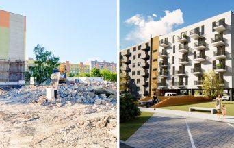 Stará kotolňa v Seredi je zrovnaná so zemou. Namiesto nej tu vzniknú nové Srdiečkové byty. Pozrite sa, ako budú vyzerať