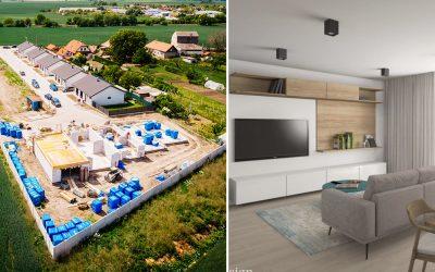 Seredské Ďatelinky spúšťajú druhú etapu výstavby rodinných domov. Ak si potrpíte na kvalitu a súkromie, tieto domy sú pre vás ako stvorené