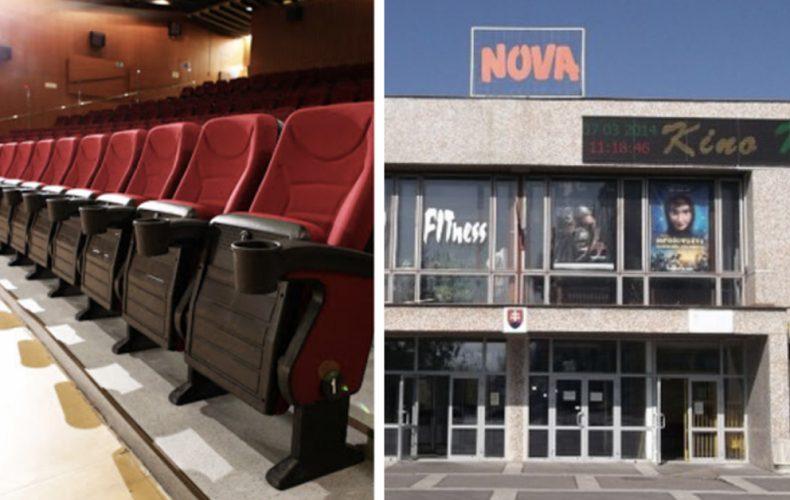 Seredské kino Nova sa otvorí už o pár dní. Aké bizarné pravidlá však musí dodržiavať?