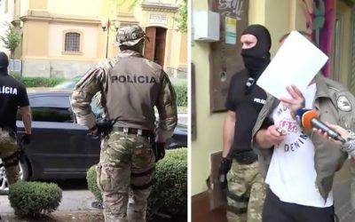 """NAKA opäť zasahovala v Seredi. Po policajnej akcii """"Merkúr"""" sú zadržaní traja ľudia, ktorí mali na drogách zarábať desaťtisíce eur"""