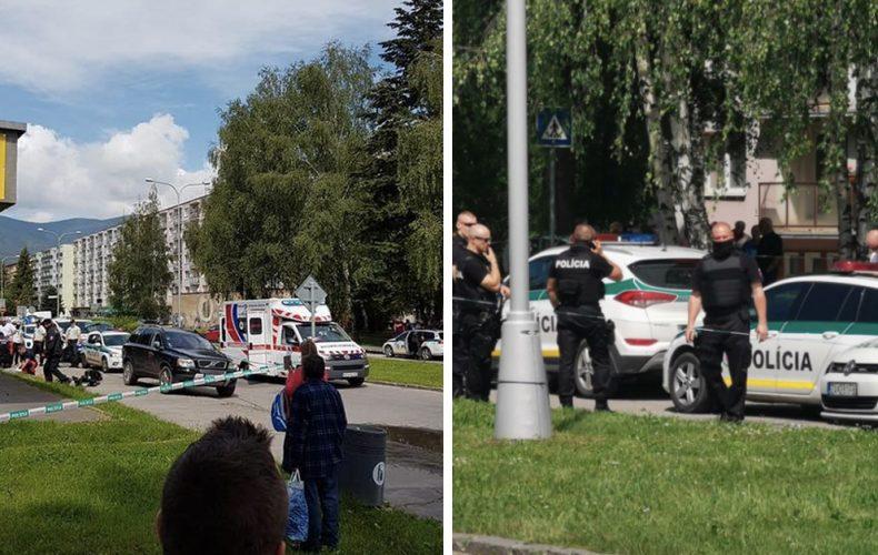 Neznámy muž napadol pracovníkov a žiakov základnej školy vo Vrútkach. Polícia hlási dve obete a zranené sú aj deti