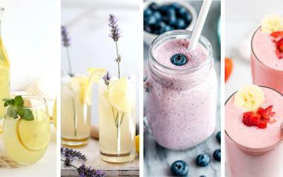 Seredčania, pripravili sme pre vás recepty na osviežujúce letné limonády a ovocné smoothie, ktoré si v horúcich dňoch určite zamilujete