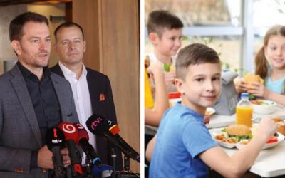 Obedy zadarmo nahradí daňový bonus na dieťa. Od začiatku budúceho roka by mal platiť aj tehotenský príspevok vo výške 200 eur