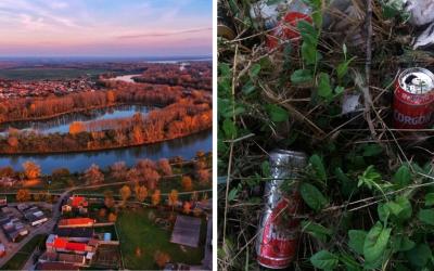 Zapojte sa do tejto výzvy a pomôžte vyčistiť prírodu v Seredi od odpadkov