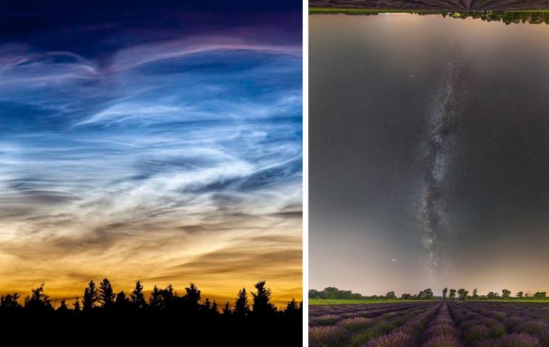 Júl je bohatý na astronomické udalosti. Vidieť môžete svietiace oblaky, kométu či planetárny sprievod