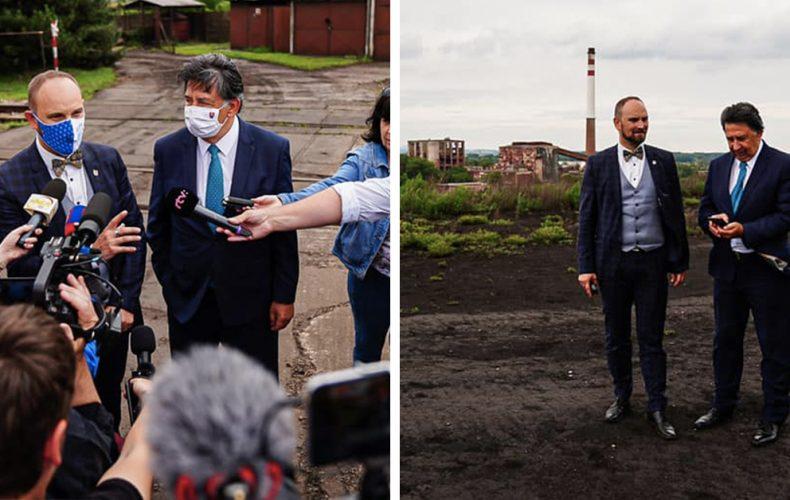 Na odpad po Niklovej hute sa prišiel pozrieť aj minister životného prostredia. Pohnú sa konečne ľady?