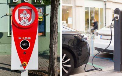 V Seredi máme prvú nabíjaciu stanicu pre elektromobily. Do prevádzky bude spustená na jeseň tohto roku