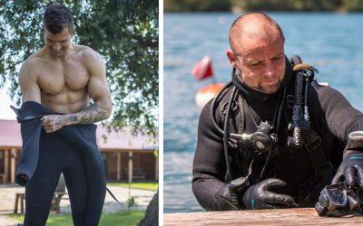 Takto vyzerá náročný nácvik seredských potápačov. Patrí medzi nich aj Seredčan, ktorý úspešne zdolal najťažší vojenský výcvik sveta