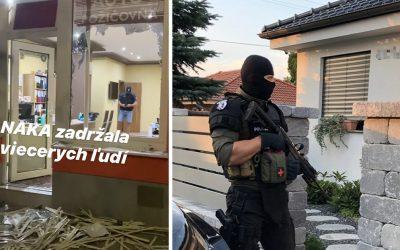 AKTUÁLNE: NAKA opäť zasahovala v Seredi. Zadržala viacero osôb za drogovú trestnú činnosť