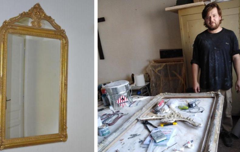 Novým exponátom v mestskom múzeu je historické zrkadlo pochádzajúce zo Seredského kaštieľa